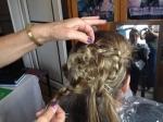Echange de coiffure